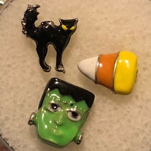 Origami Owl Halloween floating charms set